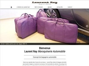 Laurent Nay, maroquinerie automobile